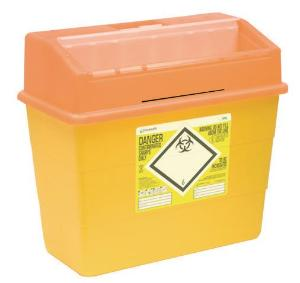 Sharp disposal containers for hazardous waste, Sharpsafe®