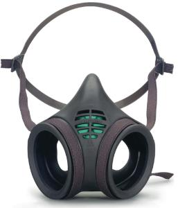 Half masks against gas, vapour and dust, 8000 series